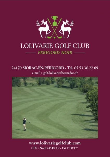 Lolivarie Golf Club - TEST HCP A LA CARTE !